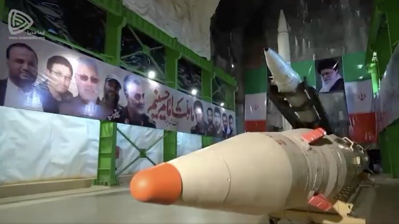 iran, new, ballistic, missile, launch, system