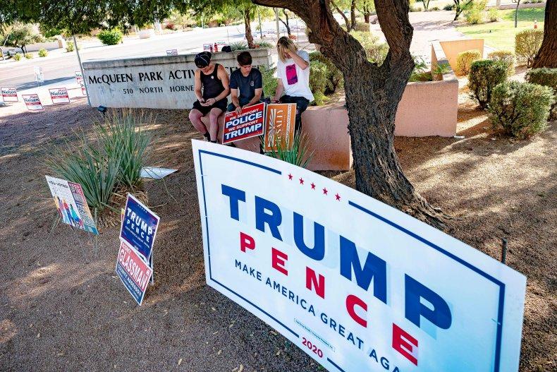 donald trump joe biden a Arizona results