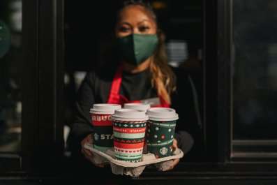 Starbucks Christmas Cups 2020