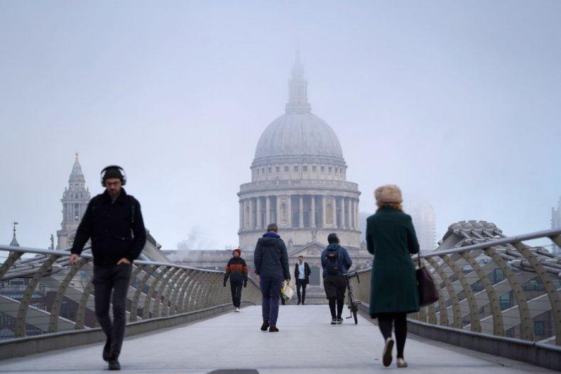 Millennium Bridge St Paul's City of London