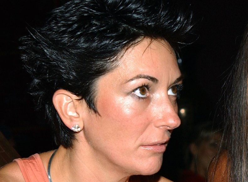Ghislaine Maxwell at Naomi Campbell Party