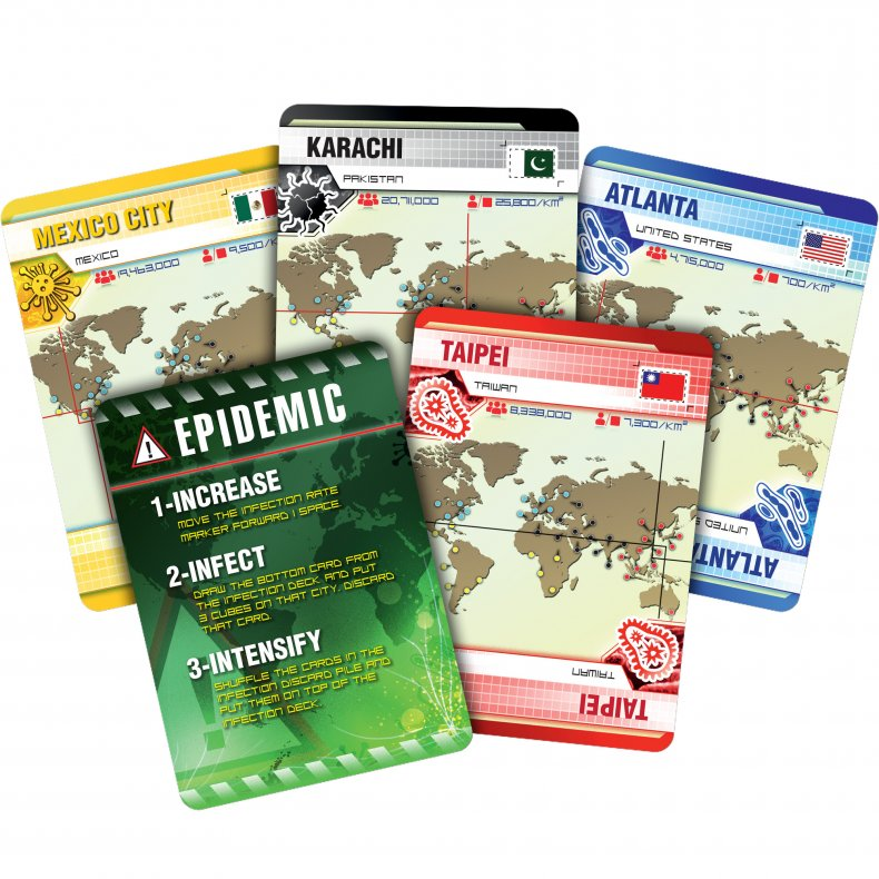 pandemic infection cards
