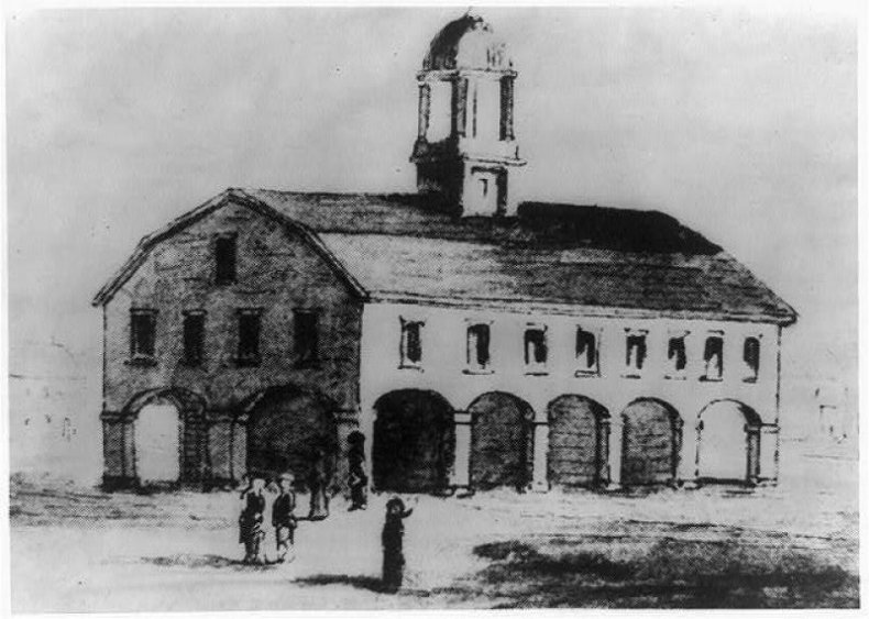1790: The first justices meet in New York City