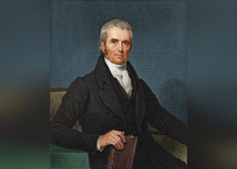 1801: Marshall appointed chief justice