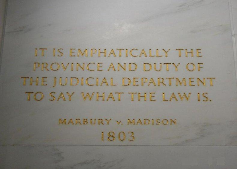 1803: Marbury v. Madison