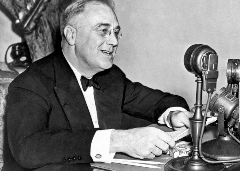 1937: Roosevelt's court-packing plan