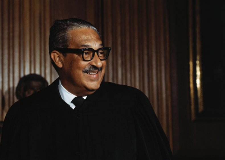 1967: Marshall appointed to the Supreme Court