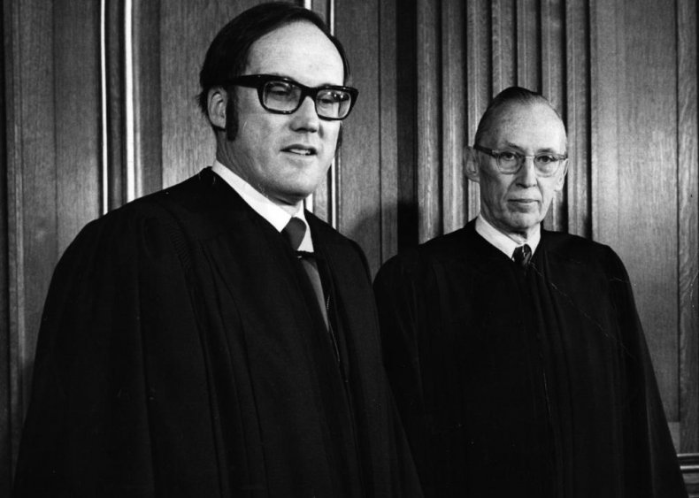 1972: Two Supreme Court justices, one day