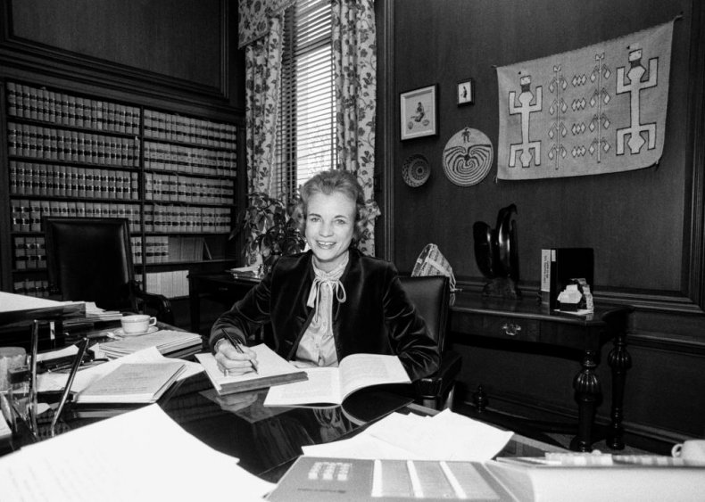 1981: The first woman is appointed to the Supreme Court