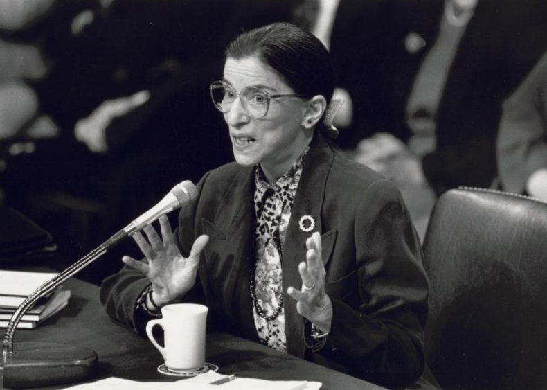 1993: Ginsburg appointed to the Supreme Court