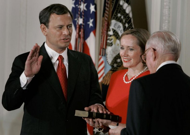 2005: Roberts appointed chief justice