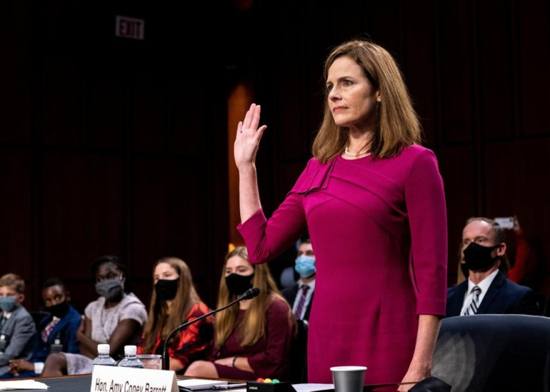 2020: Amy Coney Barret nominated to the Supreme Court