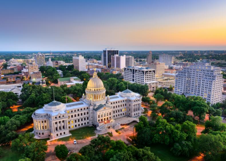 #20. Mississippi (tie)