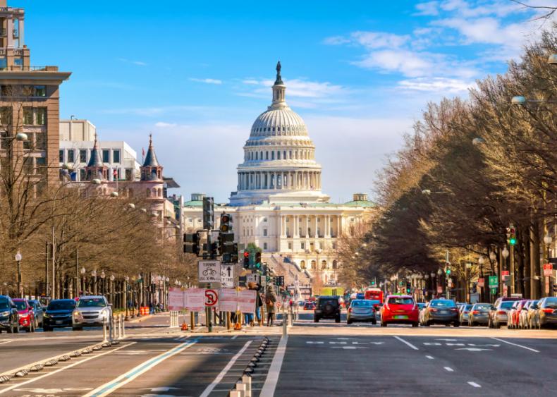 #8. Washington D.C. (tie)