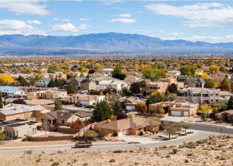 #1. New Mexico (tie)