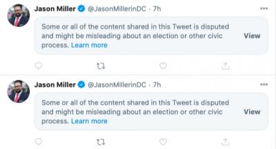 Twitter - Jason Miller