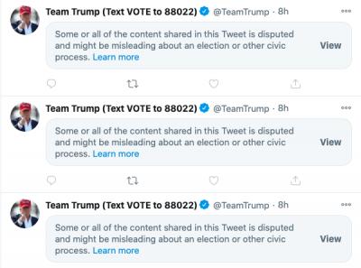Twitter - Team Trump
