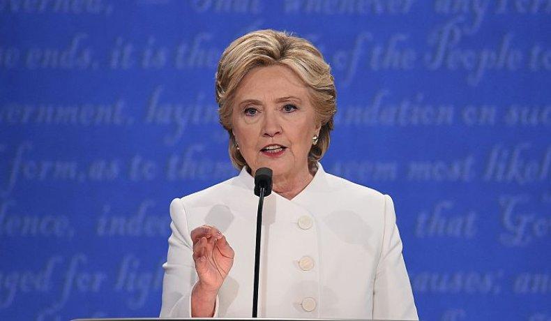 Democratic nominee Hillary Clinton 2016
