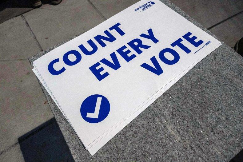 Detroit Michigan count every vote November 2020