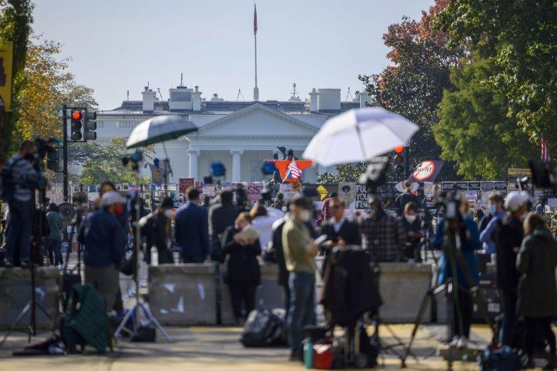 White House, trespassers, donald trump, joe biden