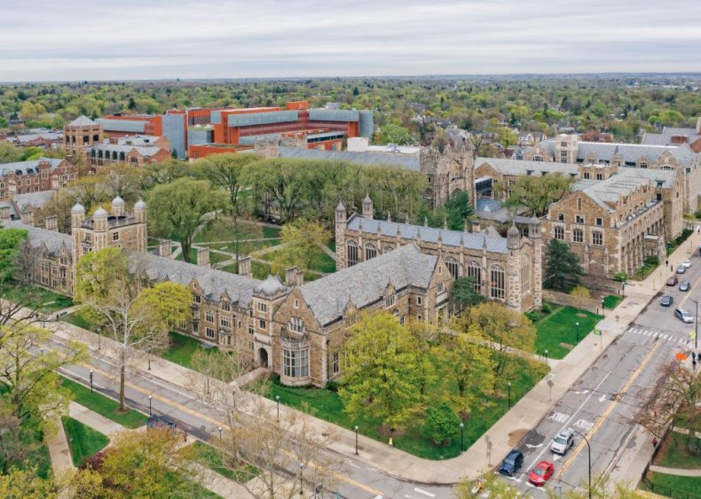 Best public college: University of Michigan - Ann Arbor