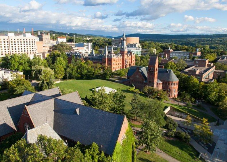 Best big college: Cornell University
