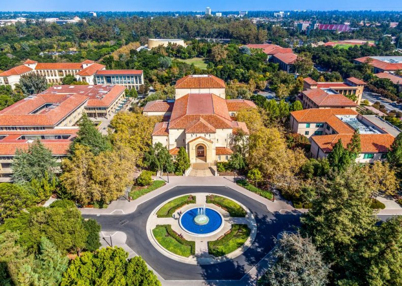 Best college on the West Coast: Stanford University