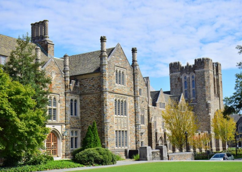 Best college in the South: Duke University