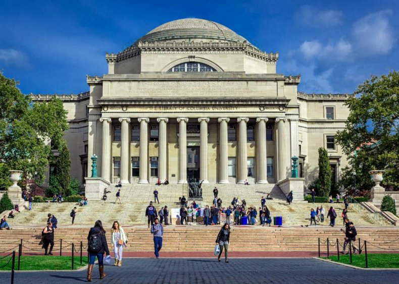 Best college in a major city: Columbia University
