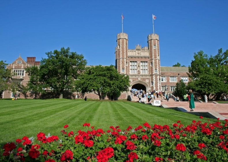Best college in the Midwest: Washington University in St. Louis