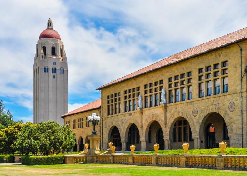 Best college near the beach: Stanford University