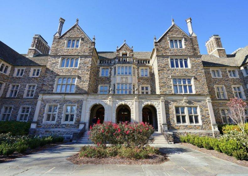 Best Christian college: Duke University