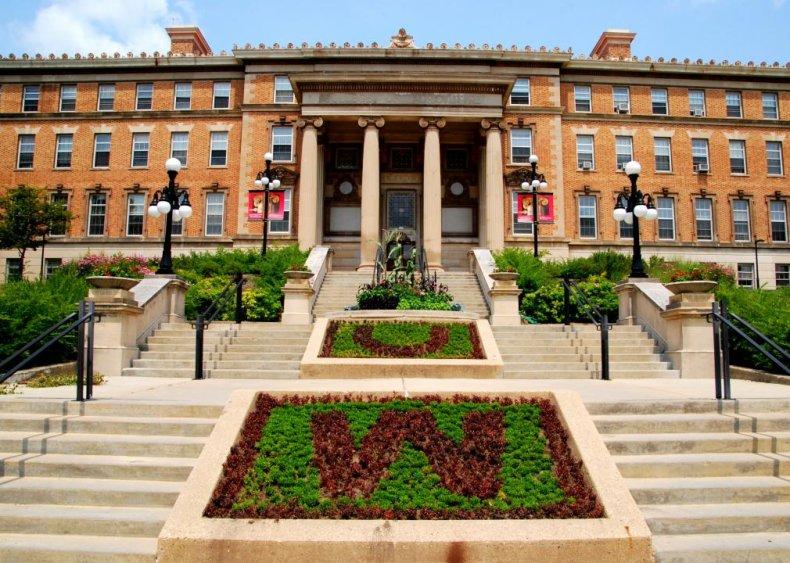 Best party school: University of Wisconsin