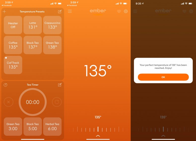 Ember Mug 2 app