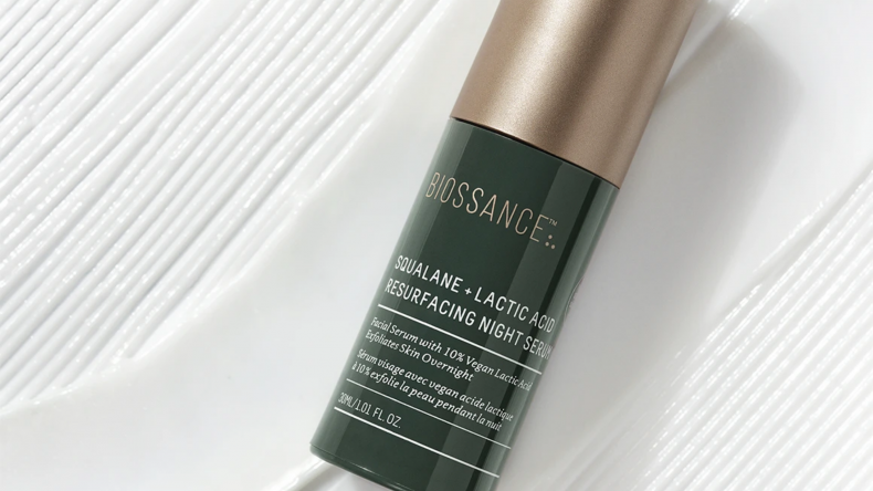 Squalane + Lactic Acid Resurfacing Night Serum