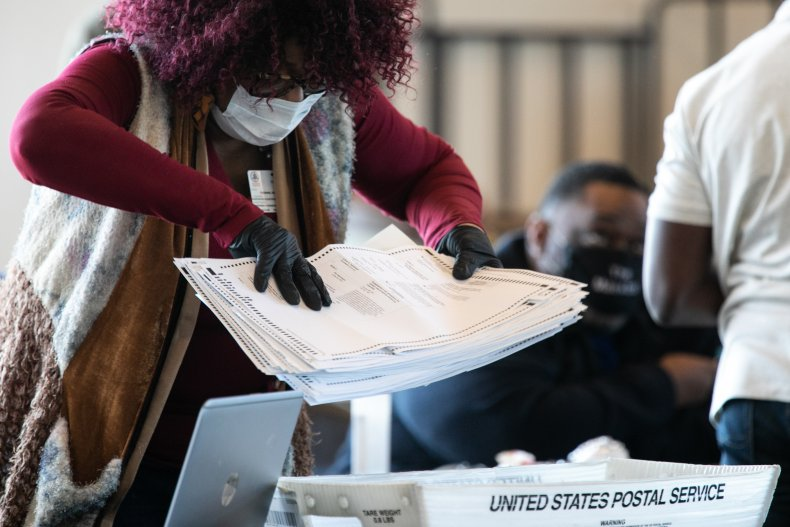 Georgia, Atlanta, Fulton, votes, race, Biden