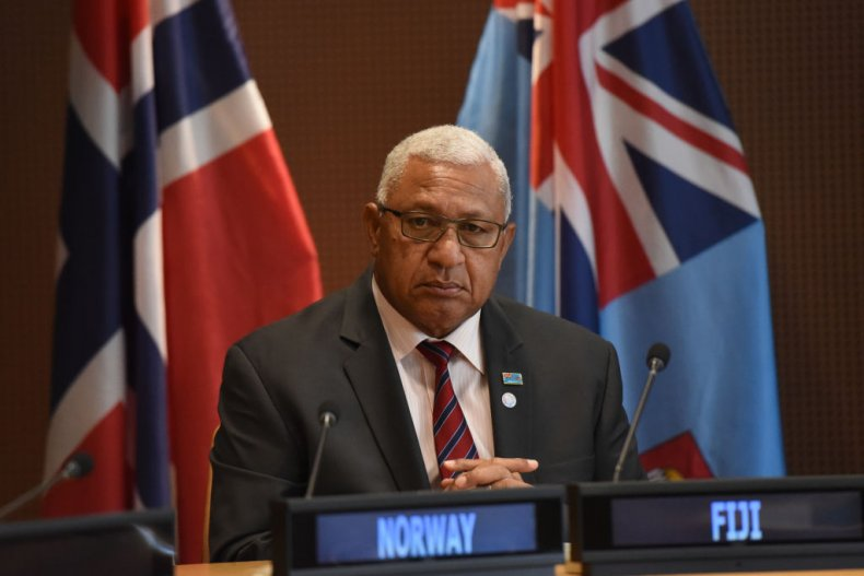 Prime Minister of Fiji Frank Bainimarama