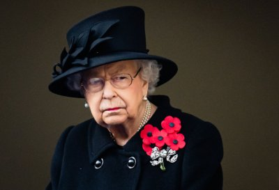 Queen Elizabeth II Remembrance Sunday 2020
