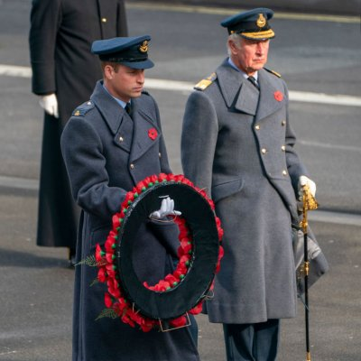 Prince William, Prince Charles, Remembrance Sunday