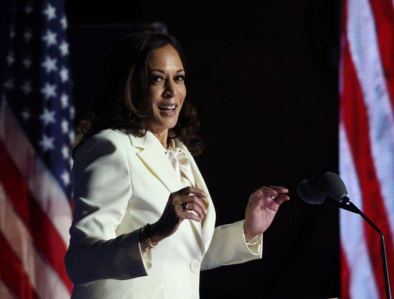 Kamala Harris Victory Speech Wilmington