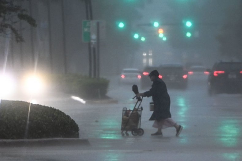 Tropical storm Eta Florida