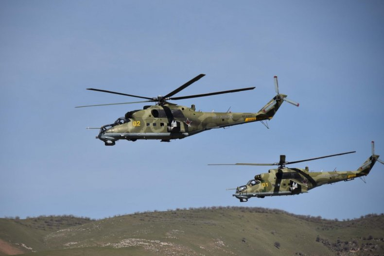 russia, mi-24, helicopter, training, tajikistan