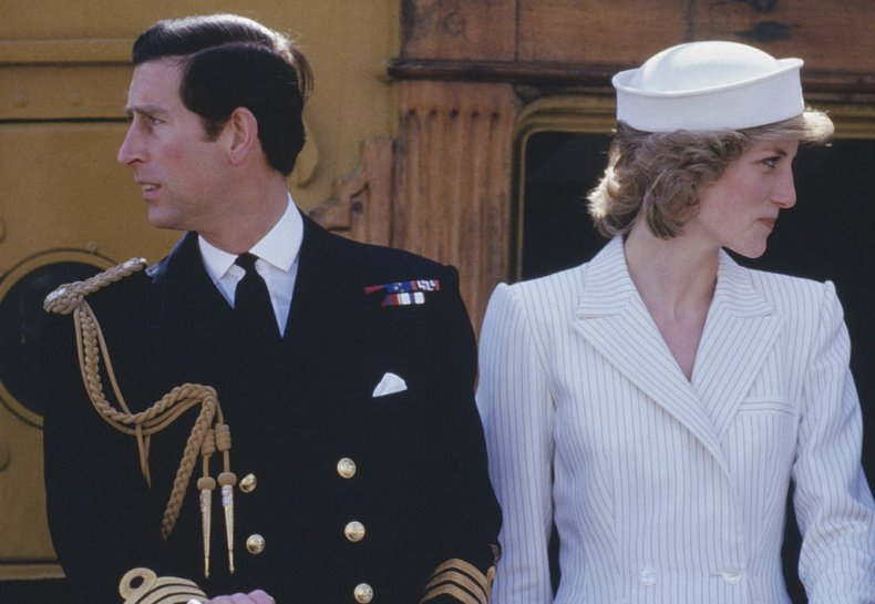 Prince Charles and Princess Diana in Italy