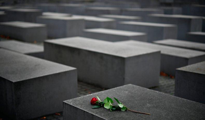 Holocaust memorial in Berlin on November 9,