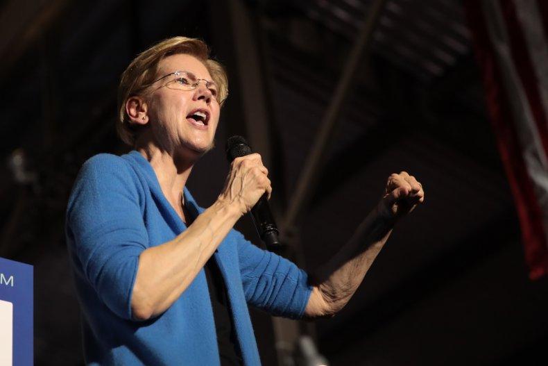 Elizabeth Warren William Barr reactions election fraud