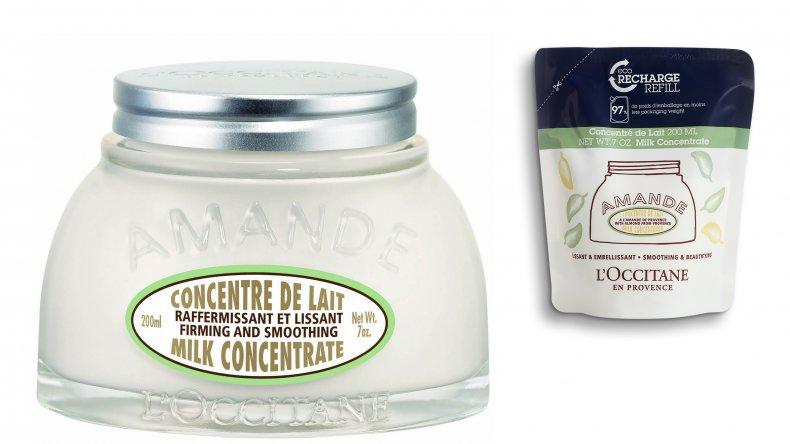 l'occitane almond milk cream duo