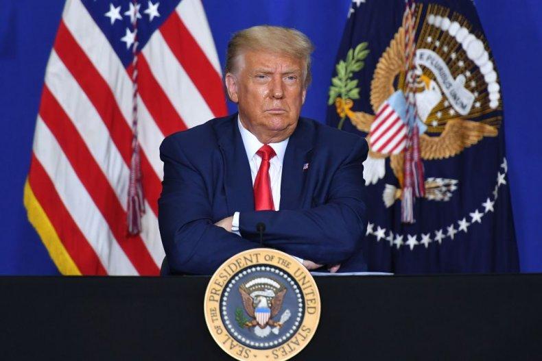 President Donald Trump in Kenosha