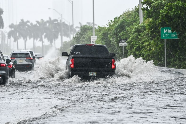 Tropical Storm Eta in Miami Florida 2020