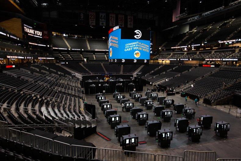 Georgia, State Farm Arena