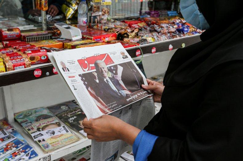 iran, newspaper, us, election, biden, trump